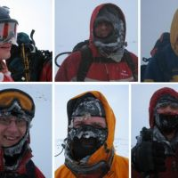Winterhike blog - Cairngorms 2007 (part 3 - storm!)