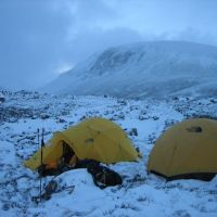 Winterhike blog - Cairngorms 2007 (part 2 - een goede start)