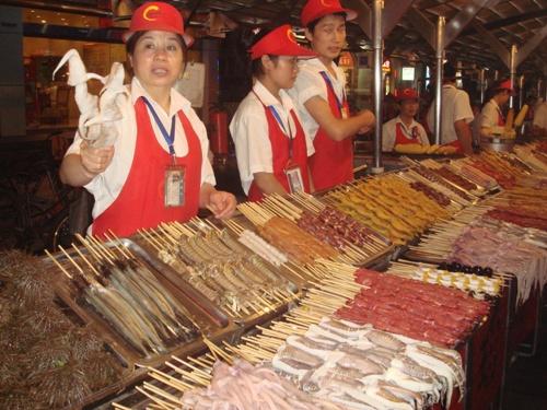 Night Market in Peking