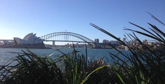 Sydney Oper und Harbor Bridge