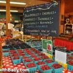 Fresh summer berries at Bauman Farms, Oregon