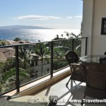 The lanai is beautiful. Wish you were here. -- at Wailea Beach Villas, Maui