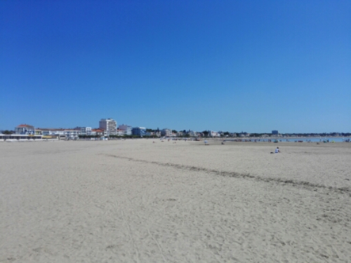 The beaches of Royan