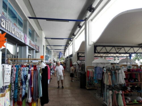 Shopping arcade in Royan