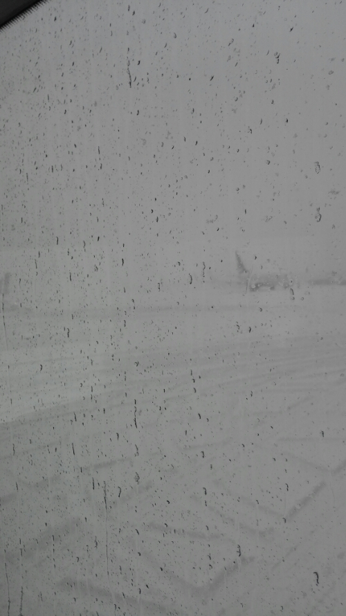 Bad weather at Gardermoen