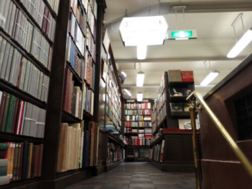 The Isseido Booksellers in Jimbocho, Japan