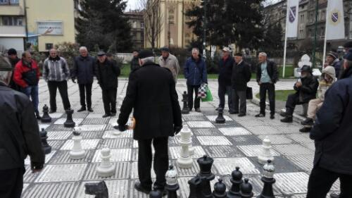 Chess in Sarajevo