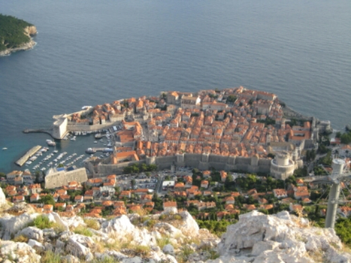 The siege of Dubrovnik