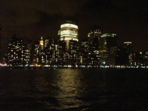 New York Skyline seen from Hudson River