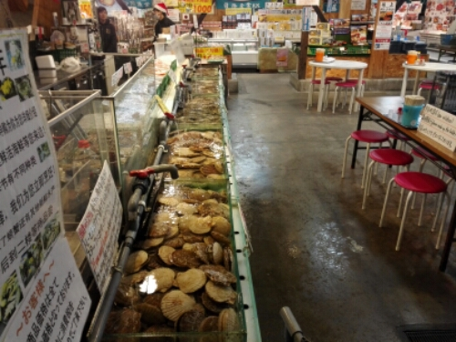 Fish market in Otaru