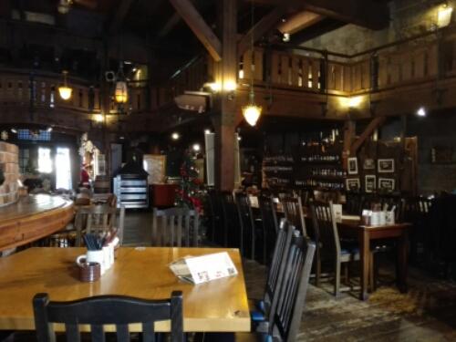 Inside Otaru Beer Brewery Pub