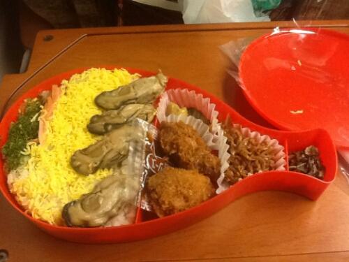 Hiroshima oyster bento box