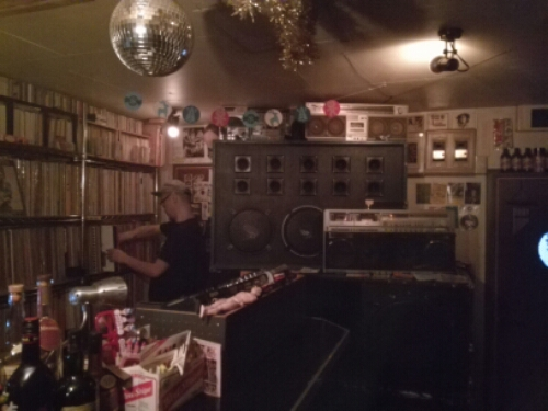 Vinyl bars in Shimokitazawa