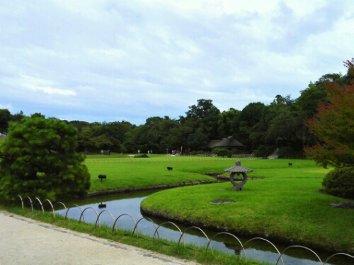 The most beautiful view in Koraku Park