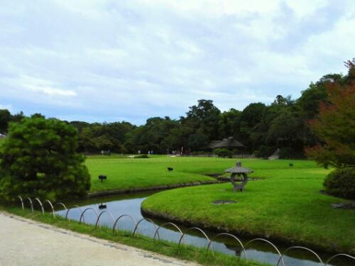 The most beautiful view in Koraku Park