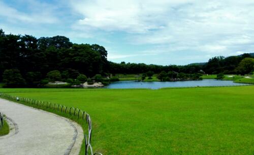 View of Koraku Park