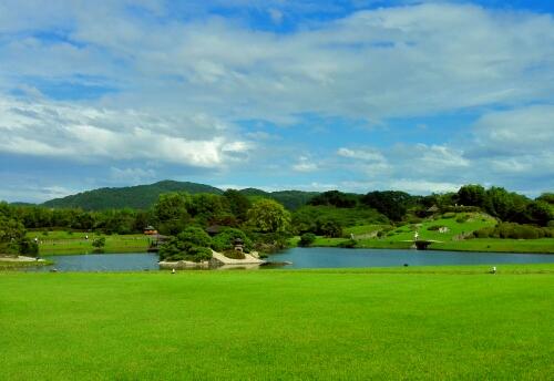 Koraku Park in Okayama