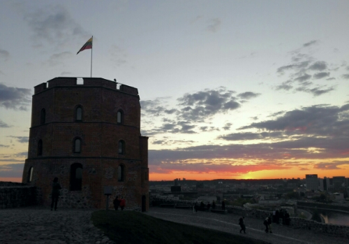 Gediminas' Castle in Vilnius