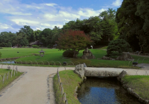 Part of the most beautiful view in Koraku Park
