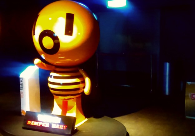 The Damper Baby, the mascot of Taipei 101