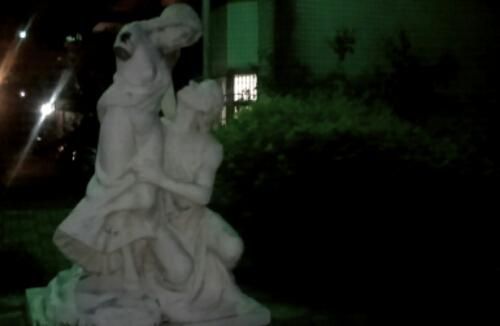 A statue in Taoyuan