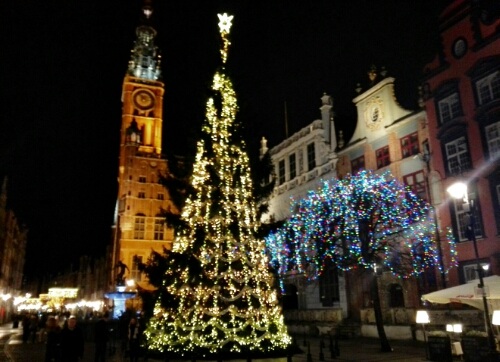 Christmas tree in Gdansk