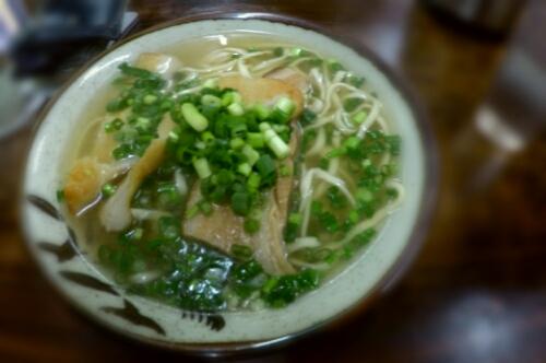 Okinawa Soba in Naha