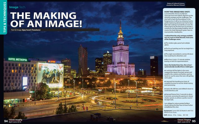 Travel Photography - Cityscape - Warsaw