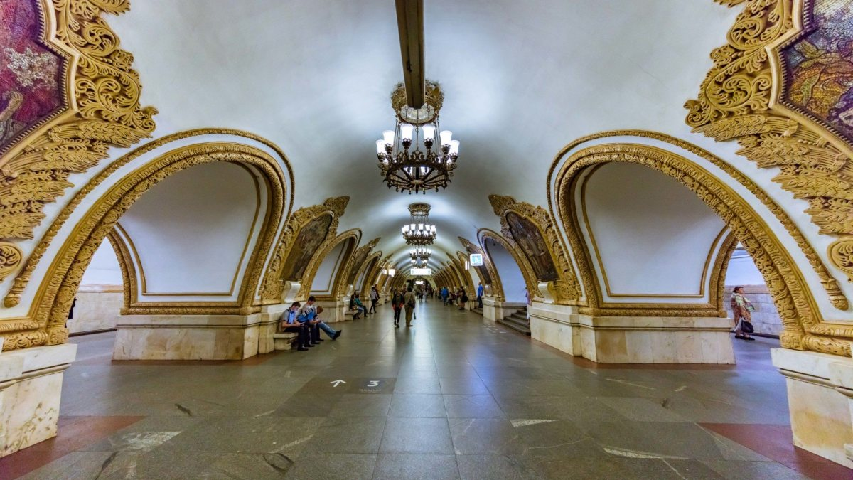 Is this the world's most stunning metro?