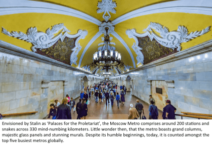 Is this the worlds most stunning metro