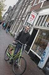 Hiring a bike in amsterdam