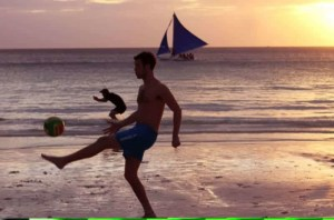 beach football philippines
