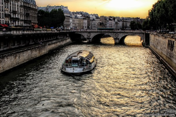A ride on River Seine, Paris