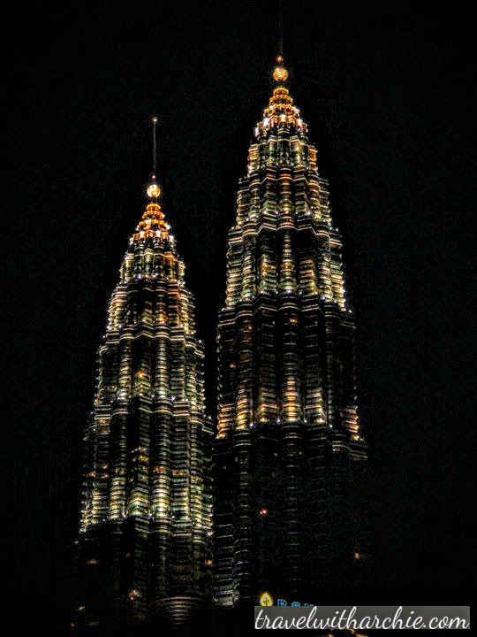 The daunting and imposing Petronas Towers