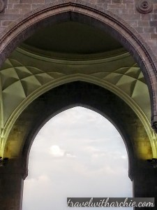 Inside arch of the Gateway