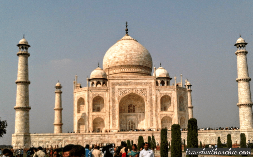 The Taj Mahal - my first ever click!