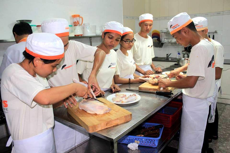 Chefs in training