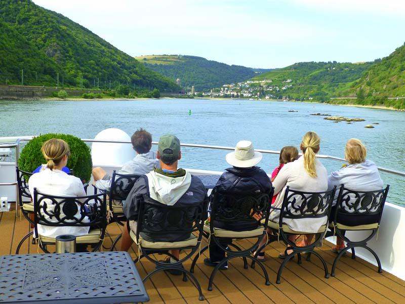 Multi-Generational Rhine River Cruise