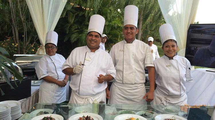 Exceptional crew at Casa Velas