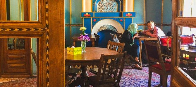 Fabulous Finds: Persian Paradise in Firuz Sherbat House   Esfahan, Iran