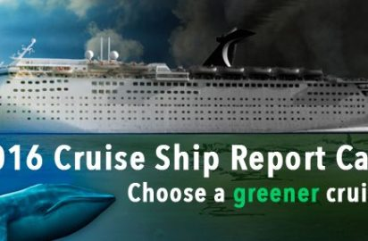Friends of the Earth releases 2016 Cruise Ship Report Card