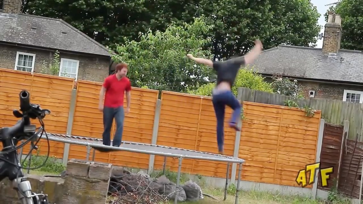 Don't Try This At Home - Trampoline Edition