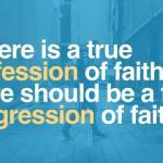 Make disciples – not converts.
