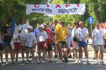 Maraton za mir. Foto: M. Aćimović, AK. MMV