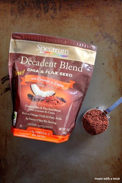 Decadent chia flax