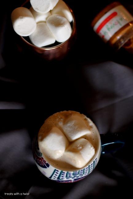 Hot Honey Vanilla PB Bourbon Nightcap 2