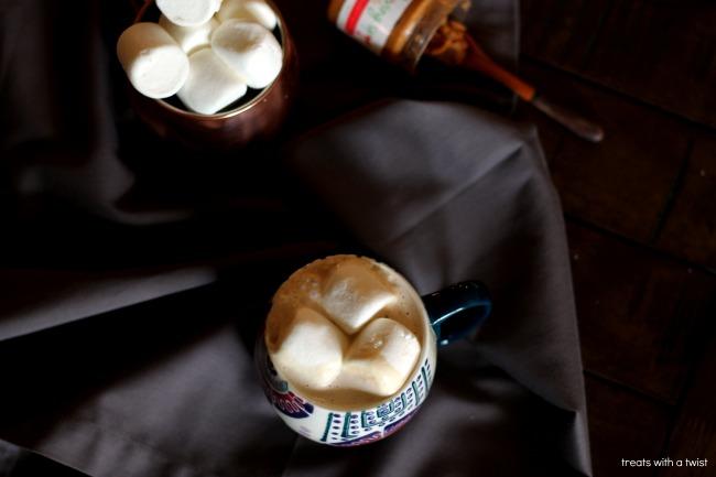 Hot Honey Vanilla PB Bourbon Nightcap 5