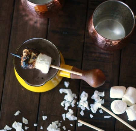 Coconut Hot Chocolate (treatswithatwist.com)