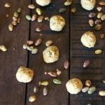 No Bake Halva Cookie Bites // treatswithatwist.com #glutenfree