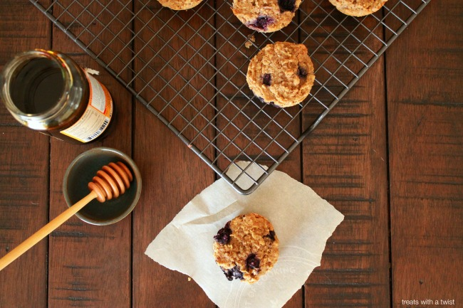 Blueberry Bran Muffins 1